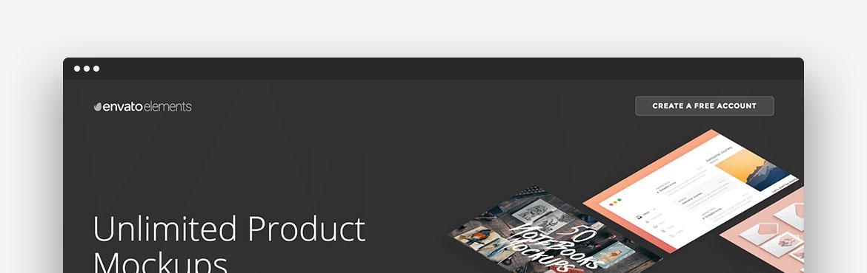 Envato Elements Landing Pages
